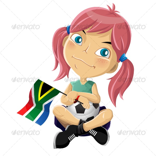 World Cup Girl - People Characters