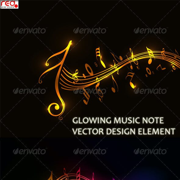 Colorful Music Note_2