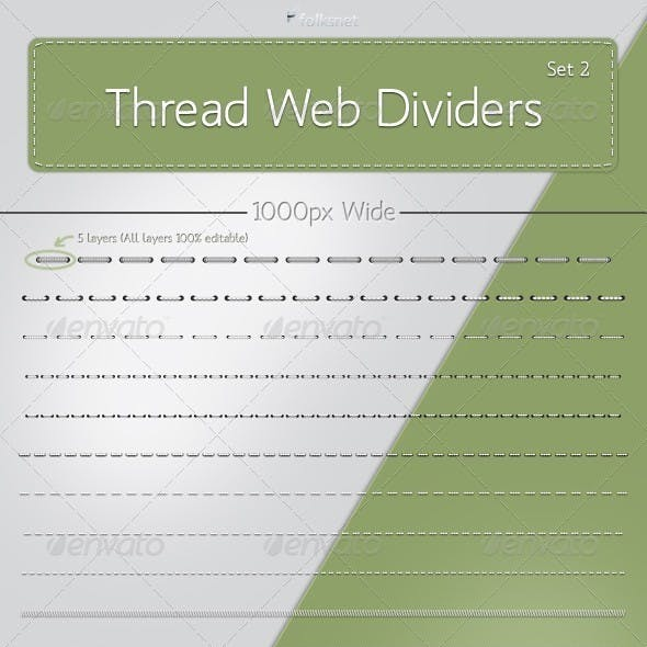 Thread Web Dividers Set 2