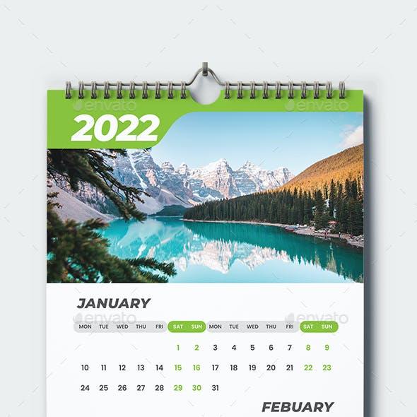 Wall Calendar 2022