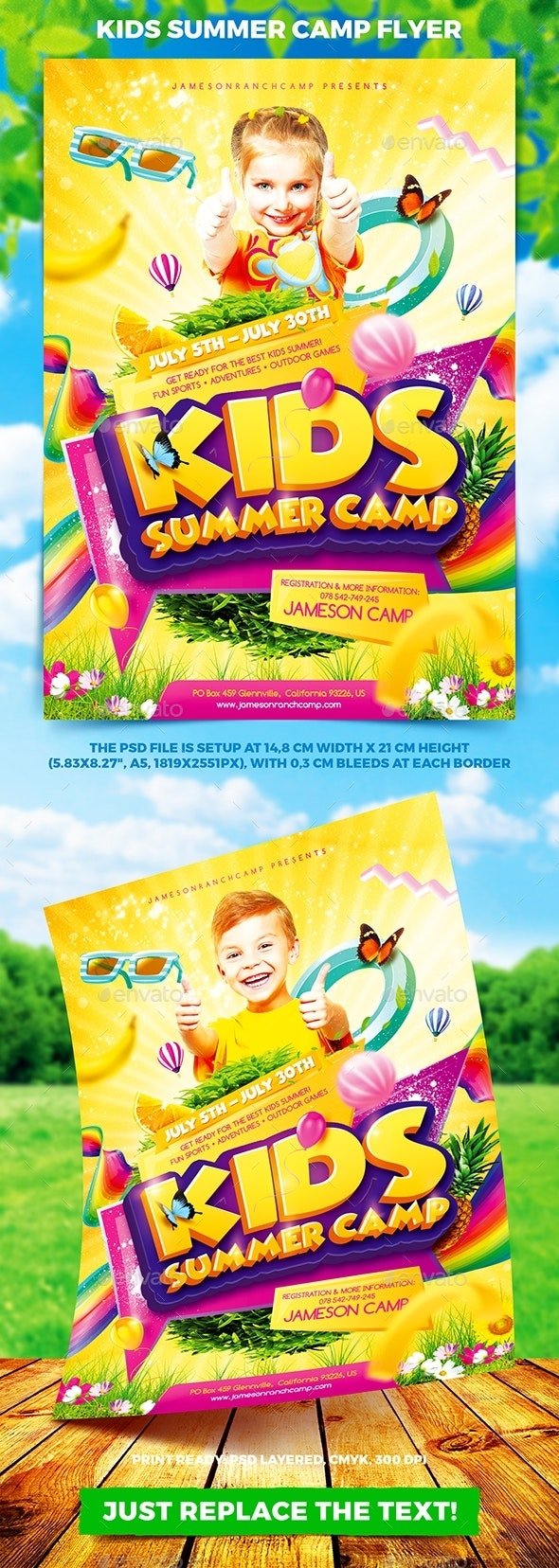 Kids Summer Camp Flyer vol.2 - Miscellaneous Events