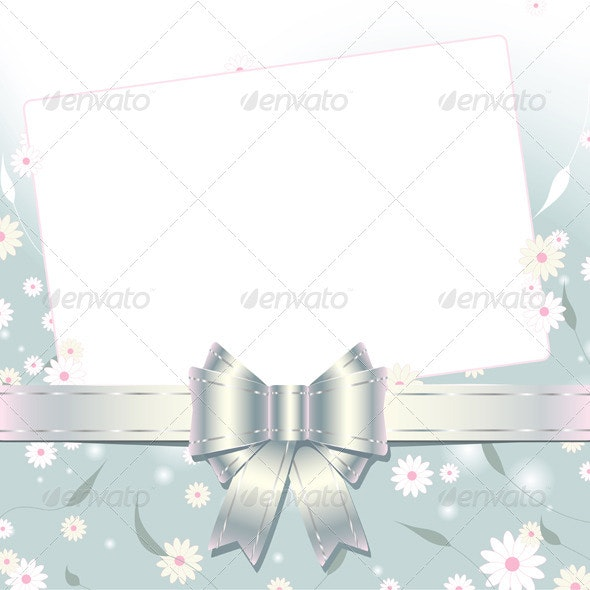 Greeting card with copy space - Backgrounds Decorative