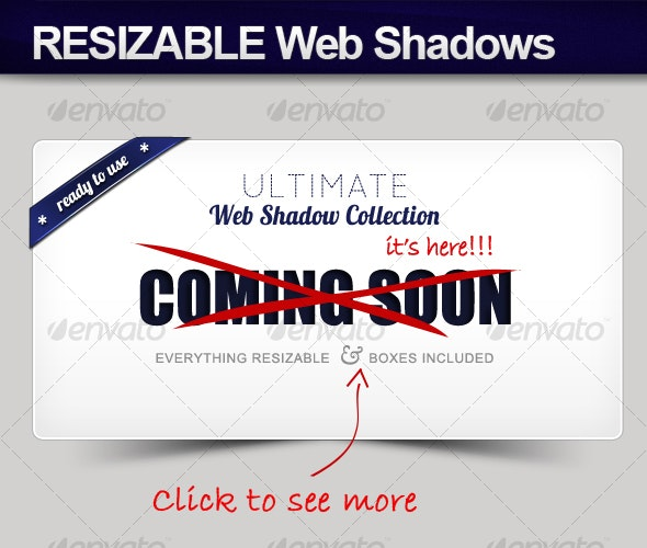 Web Shadow Collection - Web Elements