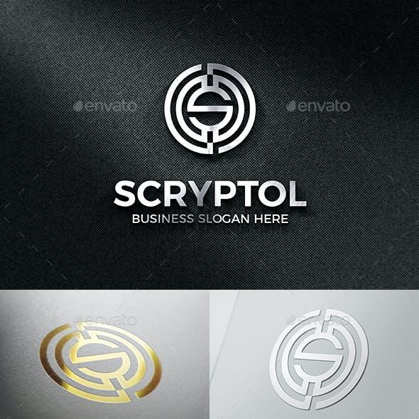 S Crypto Coin Logo