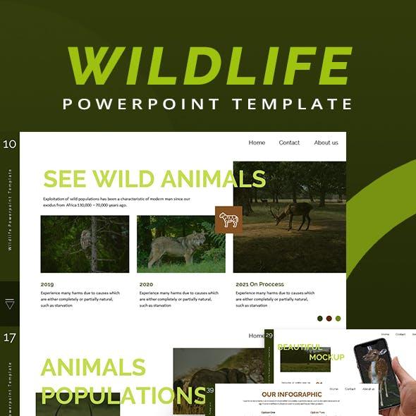 Wildlife Animal Keynote Template