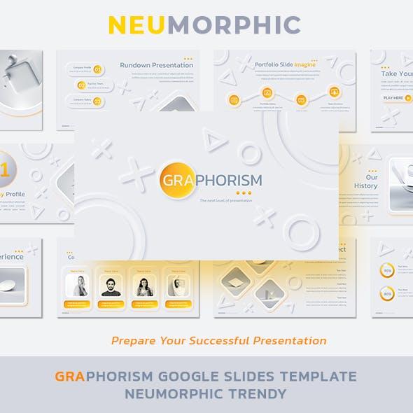 Graphorism Google Slides Template Neumorphism Trendy