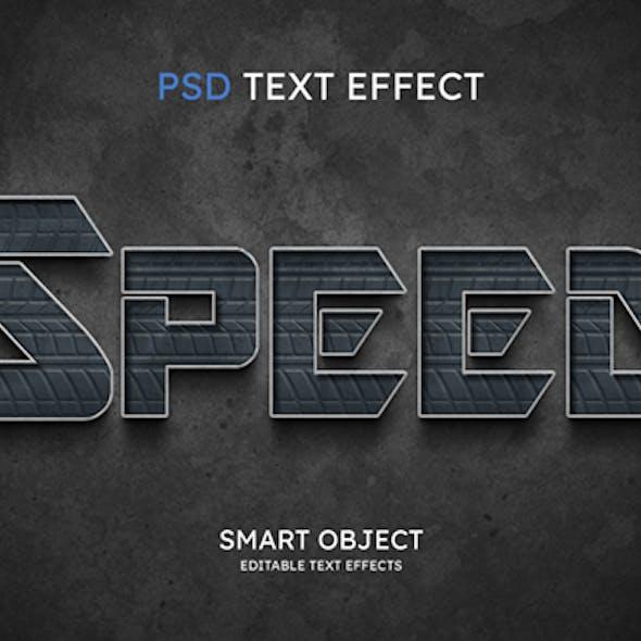 Speed Text Effect