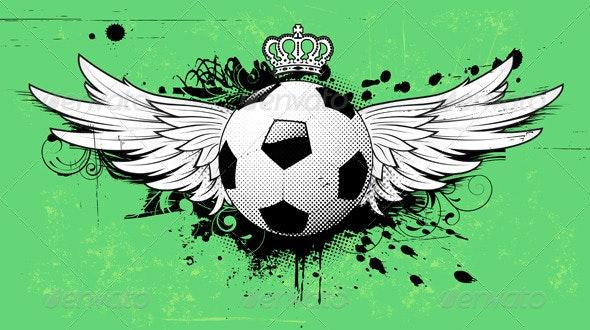 Football insignia - Sports/Activity Conceptual