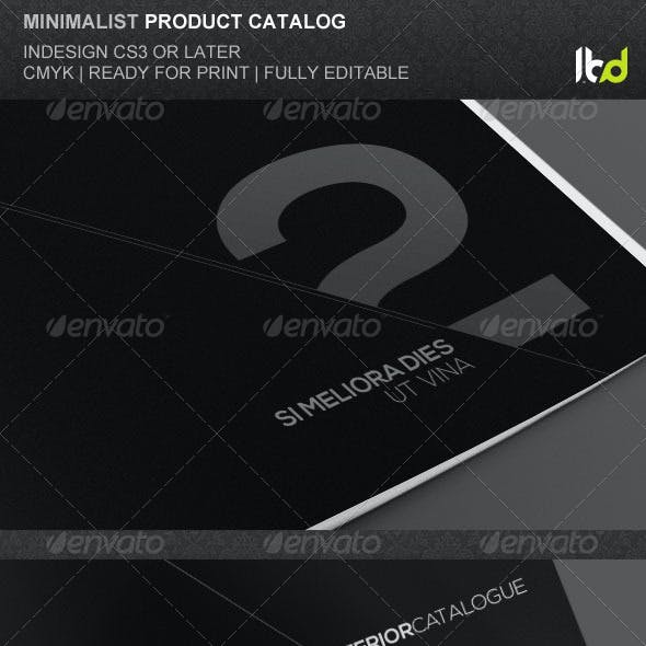 Minimalist Product Catalog