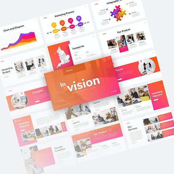 Inivision Marketing Presentation Template
