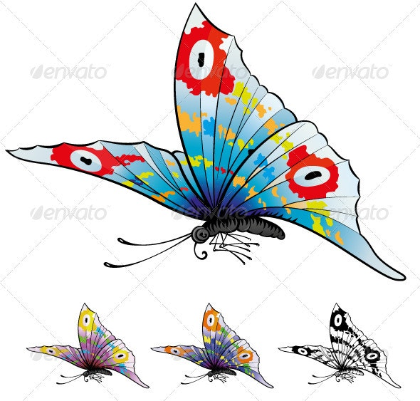 Butterfly´s - Animals Characters