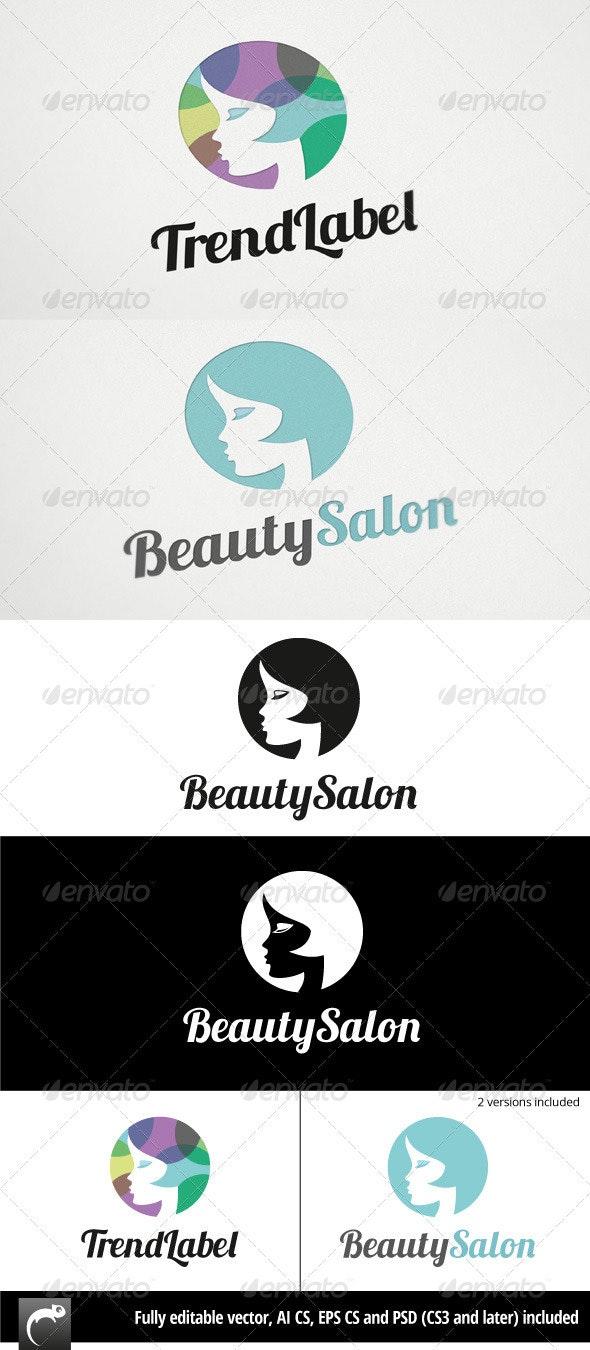 Beauty or Fashion Logo - Humans Logo Templates