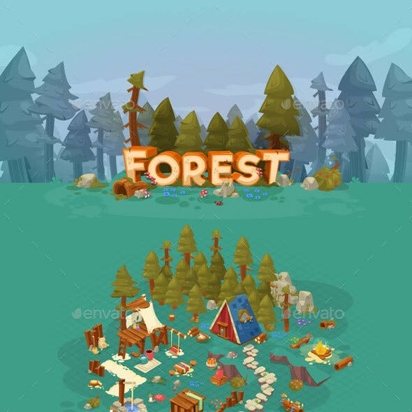 Forest - Game Assets