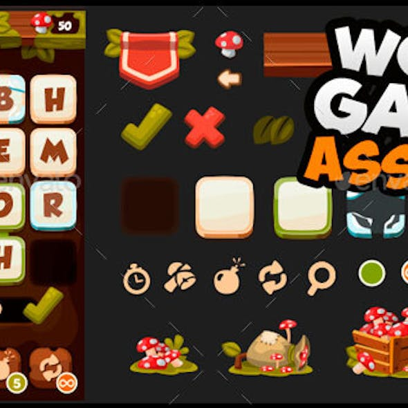 Casual Word Game - Assets
