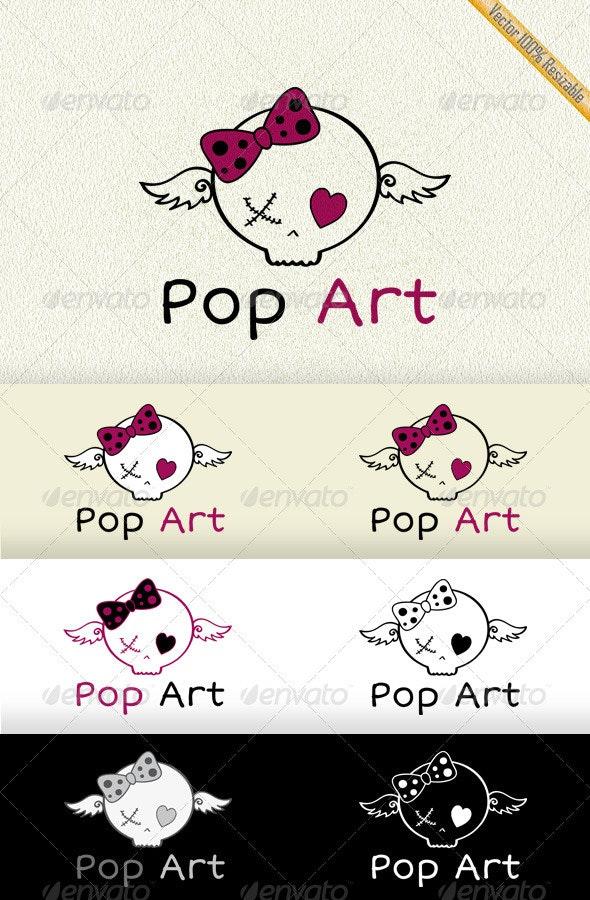 Pop Art Logo - Abstract Logo Templates