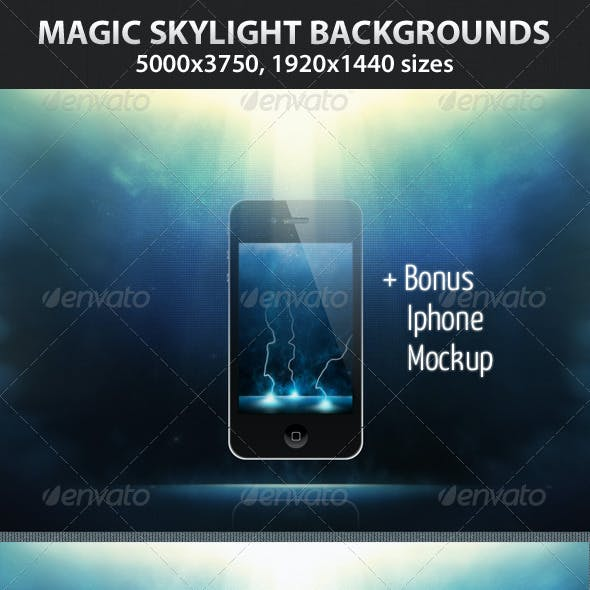 Magic Skylight Backgrounds
