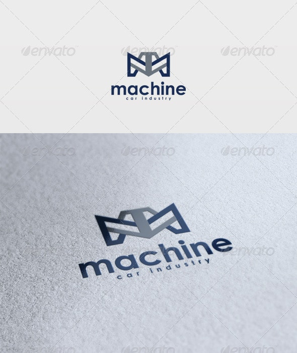 Machine Logo - Letters Logo Templates