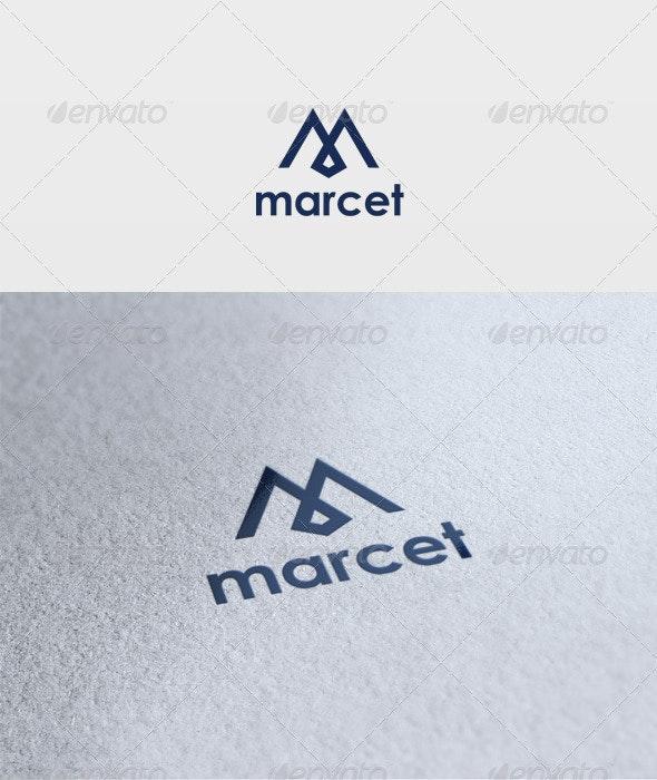 Marcet Logo - Letters Logo Templates