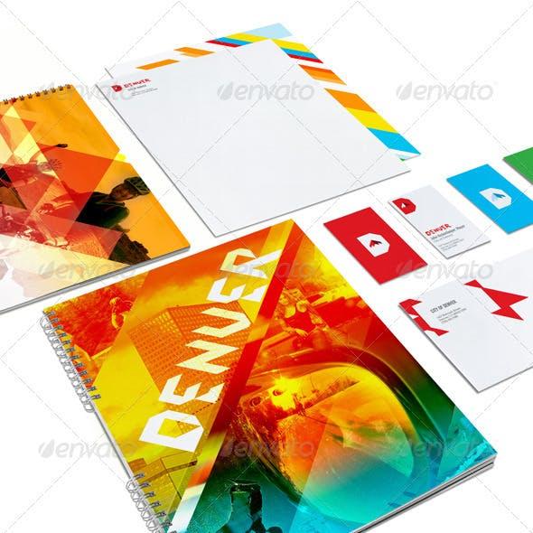 Portfolio Identity Branding Mock-up System