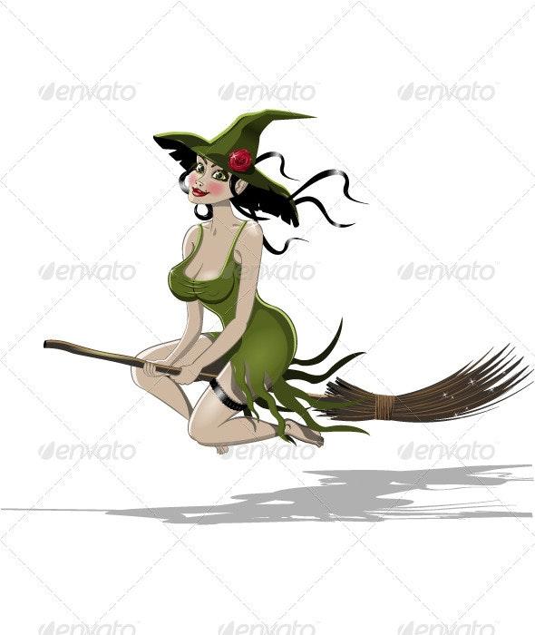 Witch - Halloween Seasons/Holidays