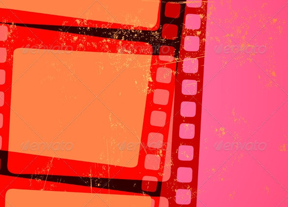 Cinema abstract background  - Backgrounds Decorative
