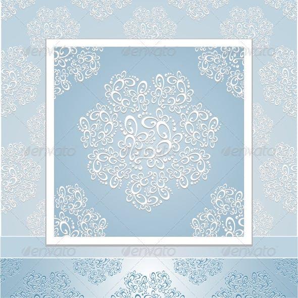 Set seamless patterns lace