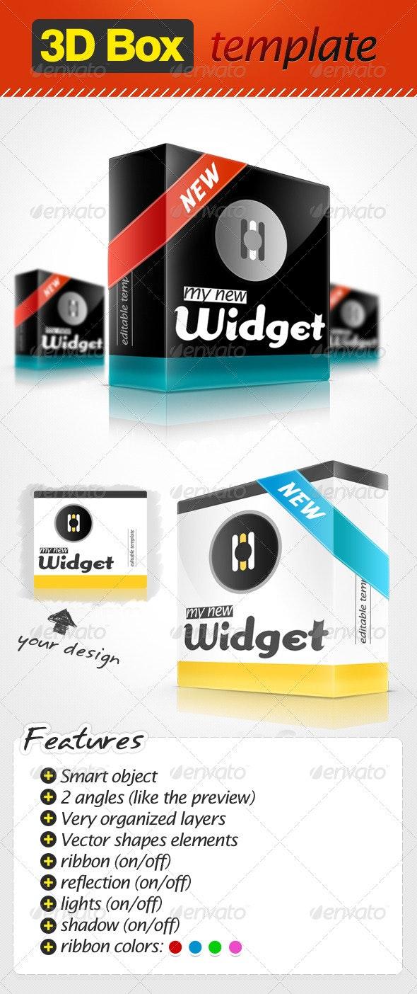 Smart 3D Box Template - Miscellaneous Packaging