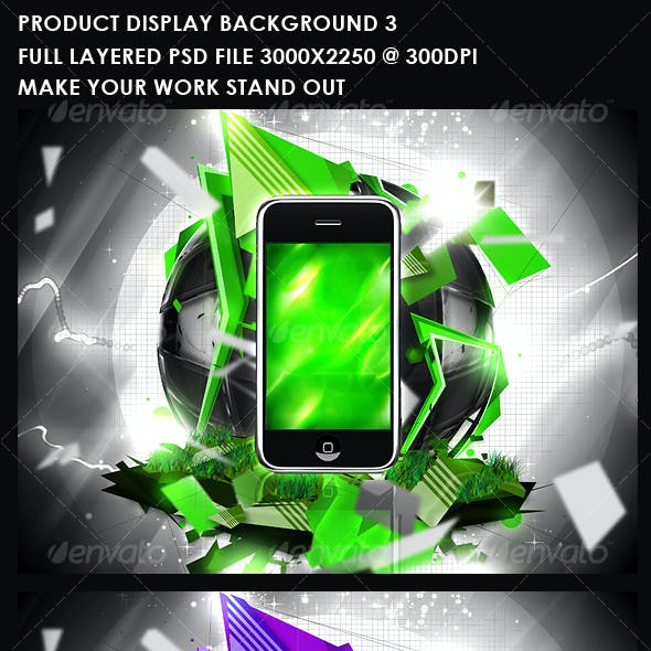 Product Display Background 3