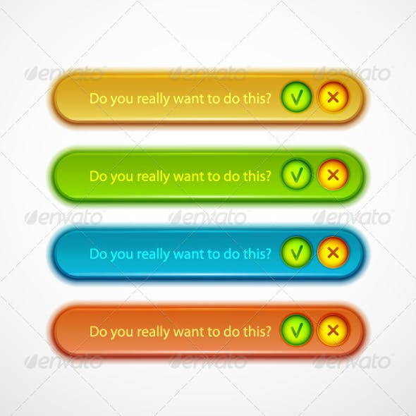 Glossy Dialog Boxes