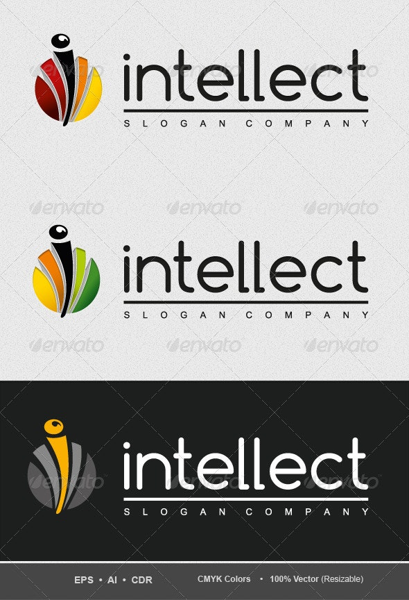 Intellectual-Game-Logo - Letters Logo Templates