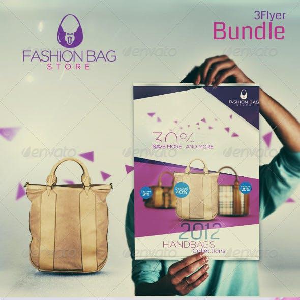 Fashion Bag   3 Unique Flayer
