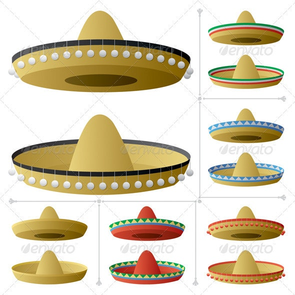Sombrero - Man-made Objects Objects