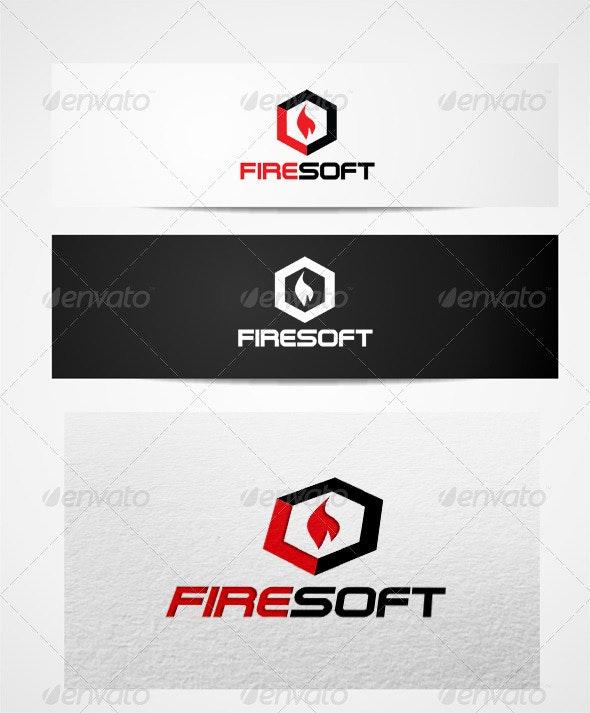 Logo Fire Soft Templates - Vector Abstract