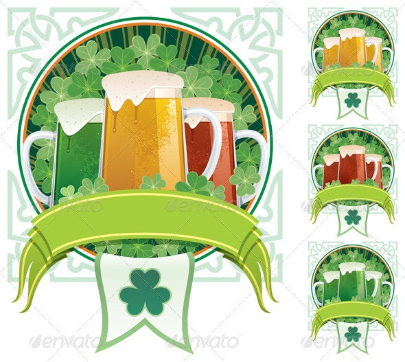 St. Patrick's Beer - Seasons/Holidays Conceptual