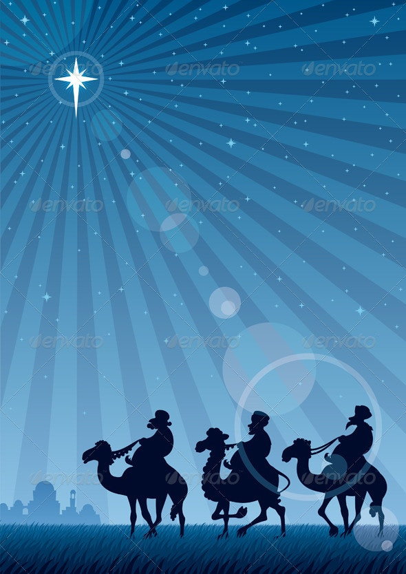 Star of Bethlehem - Characters Vectors