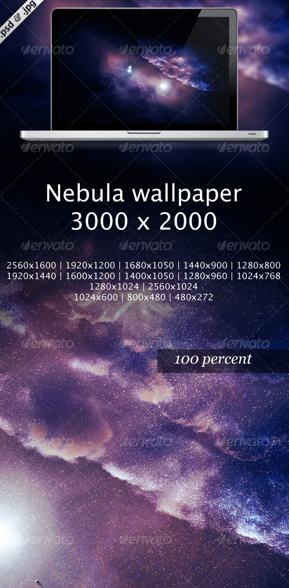 Nebula wallpaper - Tech / Futuristic Backgrounds