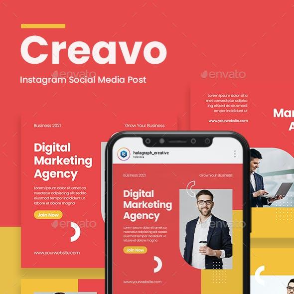 Creavo - Digital Marketing Agency Social Media Template