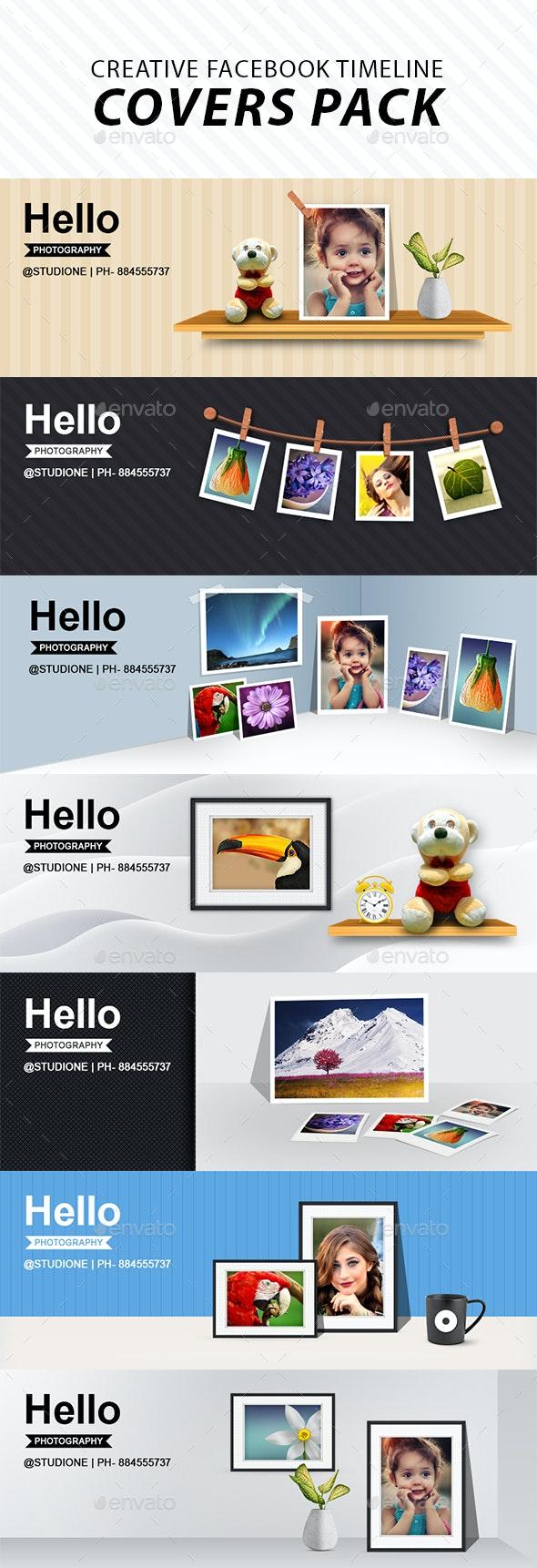 Creative Facebook Timeline Covers Pack - Facebook Timeline Covers Social Media