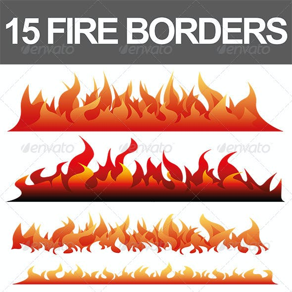 15 Fire Borders