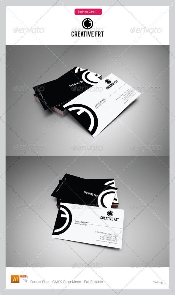 Corporate Business Cards 12 - Creative Business Cards