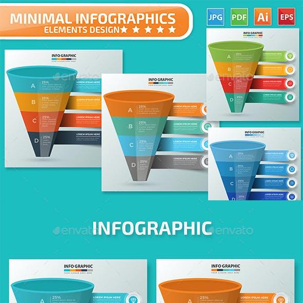 Funnel Infographics design