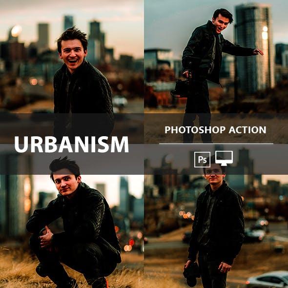 Urbanism Photoshop Action