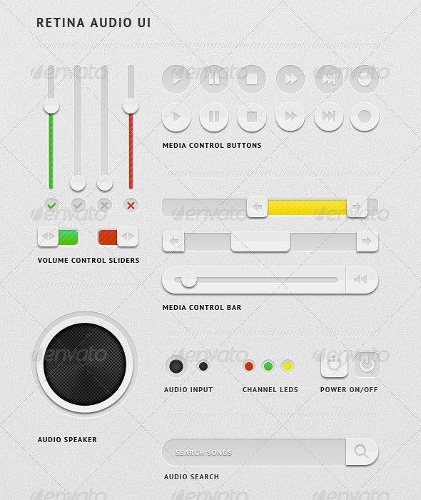 Retina Audio UI