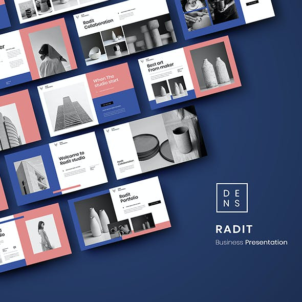 Radit – Business PowerPoint Template