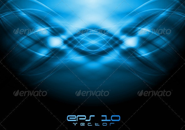 Abstract wavy background - Backgrounds Decorative