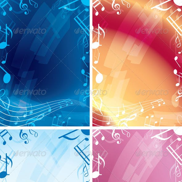 Abstract Music Backgrounds