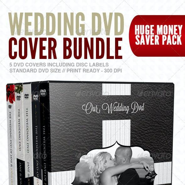 Wedding DVD Cover & Disc Label Premium Bundle