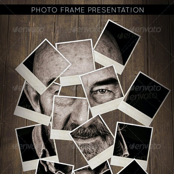 Photo Presentation Frame