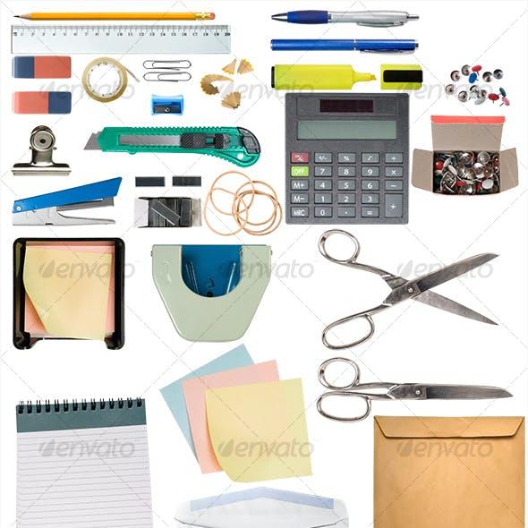 Desk Items Pack