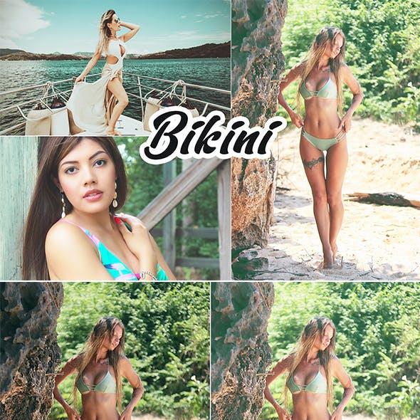 Bikini Photoshop Action